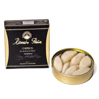 Calamars Farcis huile d'olive 138 grammes, Ramón Peña Or