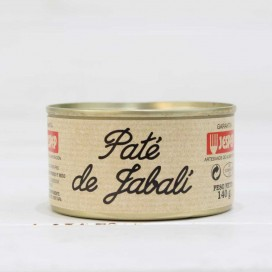 Pate of wild Boar, 140 grs