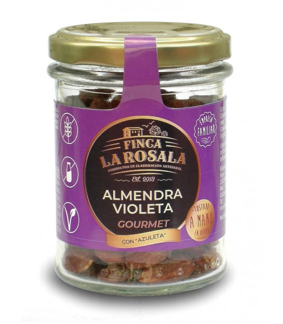 Jar of Nuts, Almond Violet Deluxe 90 grams