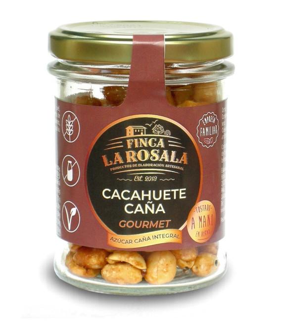 Glas - Nüsse - Erdnüsse Zuckerrohr Deluxe 90 grs