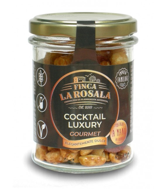 Jar of Dried Fruits and nuts in Cock Luxury Deluxe 90 grams