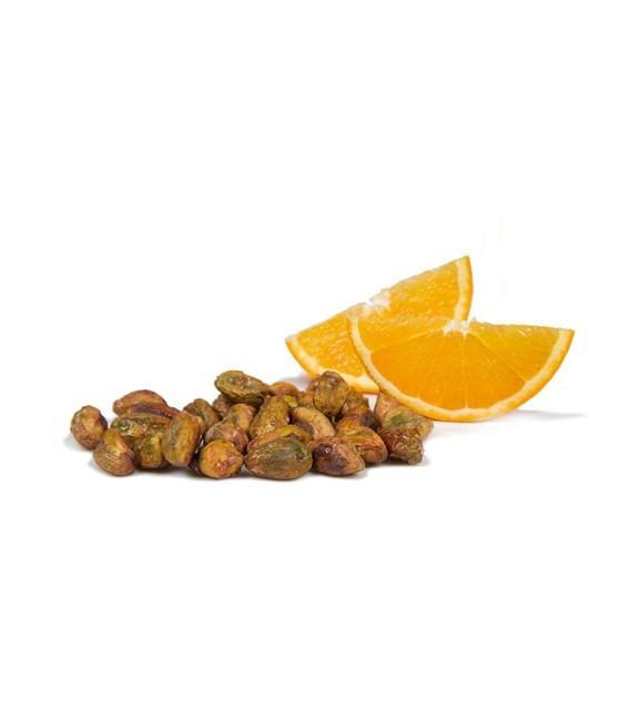 Glas - Nüsse von Pistazie Orange Deluxe 90 grs