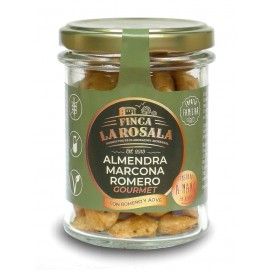 Jar of Nuts Almonds Marcona Rosemary Deluxe 90 grams