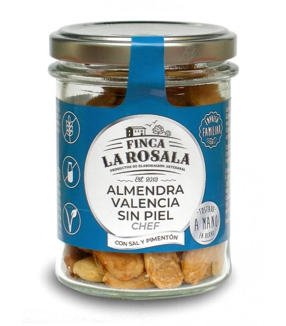 Glas Nüsse Mandeln Valencia Ohne Haut 90 grs