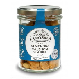 Jar of Nuts of Almonds Valencia Without Skin 90 grams