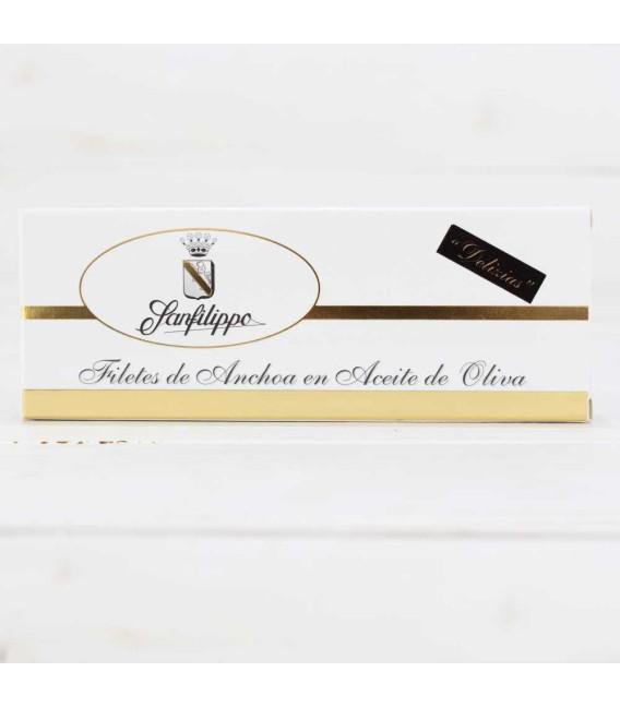 """D3-Anchoas Sanfilippo, in olio """"Delizias"""" mini, 24 filetti di"""