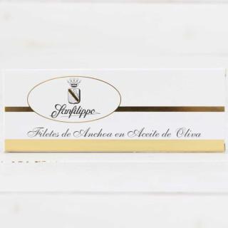 Anchoas Sanfilippo olio di Grandi dimensioni-12 filetti di