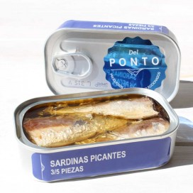 Sardines in Spicy 3/5 Pieces, 120 grams, Of Pontus