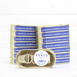 14 1 Can Free Anchovies from the Cantabrian Limited Series of 50 grams, Of Pontus