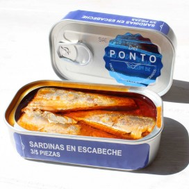 Sardines in Escabeche 3/5 Pieces, 120 grams, Of Pontus