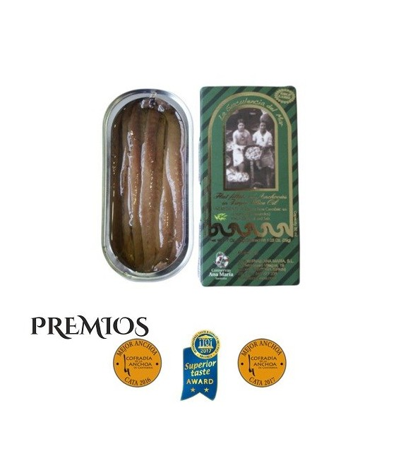 Pack Saving 15 Cans of Anchovies 50 grams of Conservas Ana Maria