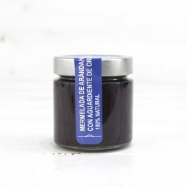 Jam Blueberry Pomace Brandy, 100% natural, Of Pontus