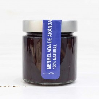 Mermelada de Arándano 100% natural, 240 grs