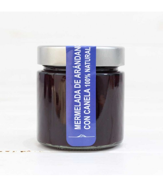 Jam Cranberry with Cinnamon , 100% natural, Of Pontus