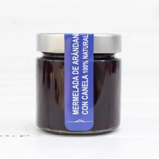 Marmellata di Mirtillo rosso con Cannella , 100% naturale, Del Ponto