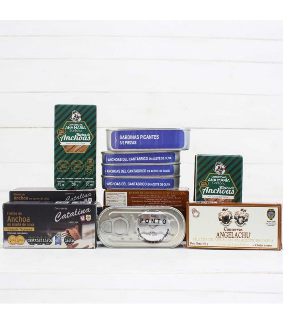 Anchovies Premium Series-Numbered to 50 grams, Of Pontus
