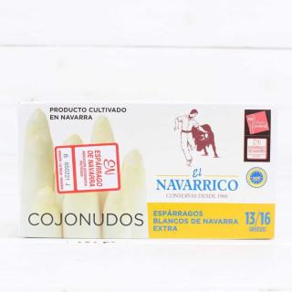 Espárragos de Navarra 13/16 frutos, pelados a mano