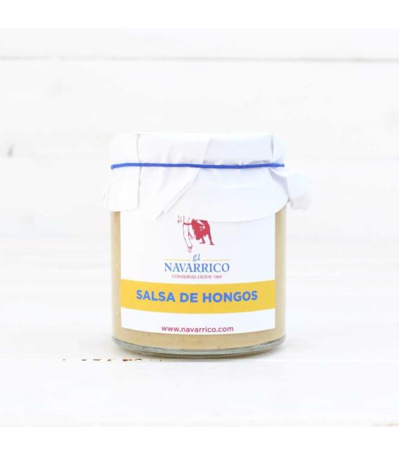 Salsa de Hongos, tarro de 400 grs