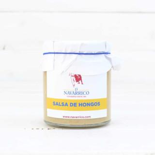 Salsa de Hongos, tarro de 230 grs