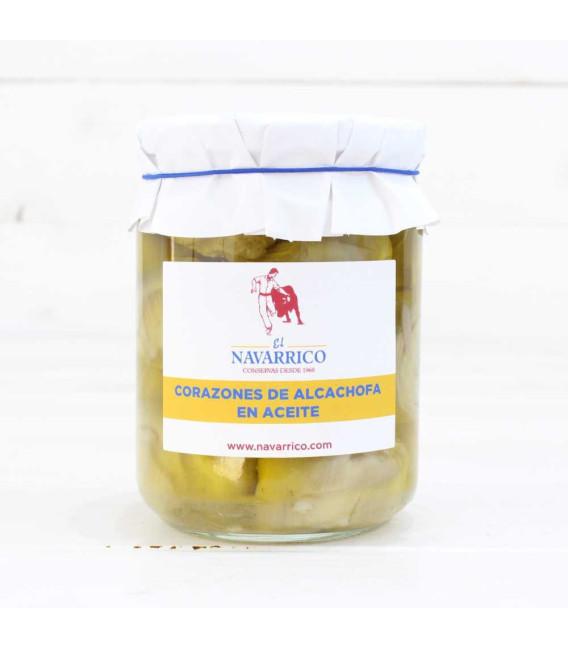 Corazones de Alcachofa en Aceite tarro de 400 grs