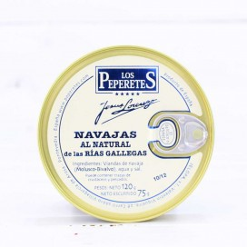 Navajas al Natural Galician Rias, 10/12 pieces, 120 grams