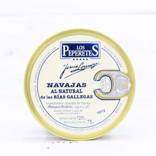 Navajas al Natural Rias de Galice, 10/12 pièces, 120 grammes
