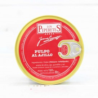 Polpo in salsa di Aglio, 120 grammi