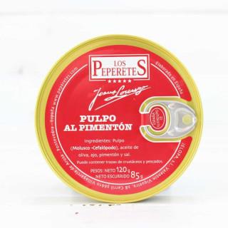Tintenfisch mit Paprika, 120 G