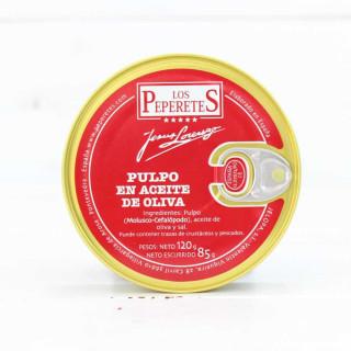 Pulpo en Aceite de Oliva, 120 grs