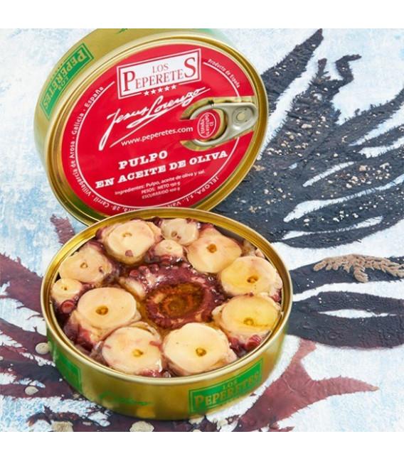 Oktopus in Olivenöl, 120 g