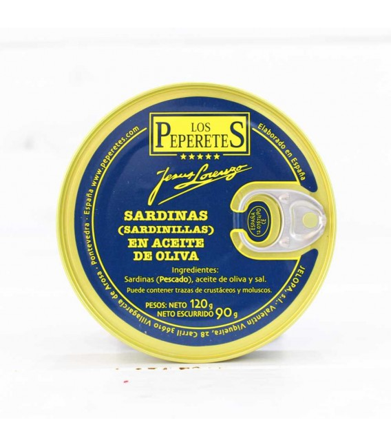 Sardinillas en Aceite de Oliva, 120 grs