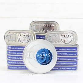 Pack Summer, 20 Anchovies Numbered Series of 50 grams Gift Mussels 8/12 Pieces