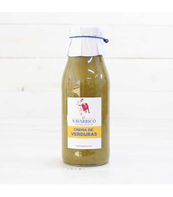 Crema de Verduras, botella de 480 ml.