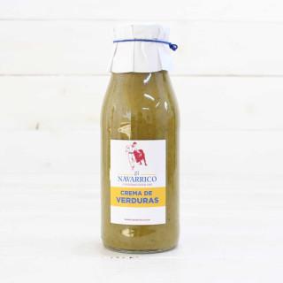 Creme von Gemüse, eine Flasche 480 ml.