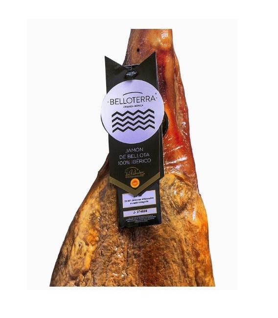 Ham de Bellota 100% Ibérico D. O. Los Pedroches, a Whole Piece, 9 Kgs
