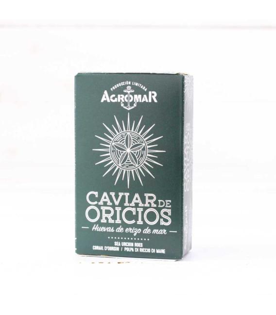 Kaviar Bohrungen besondere auswahl 120 grs
