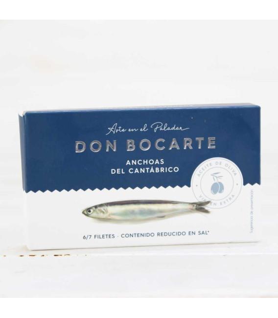 Anchoas de Santoña en AOVE 48 grs. Don Bocarte