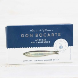 Anchovies from Santoña in olive oil 48 g Don Bocarte
