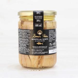 Bonito del Norte, dans de l'huile d'olive 400 grs, Ramón Peña Or