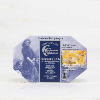 Telline dalla Galizia al Naturale ,30/40 Pezzi 120 grammi