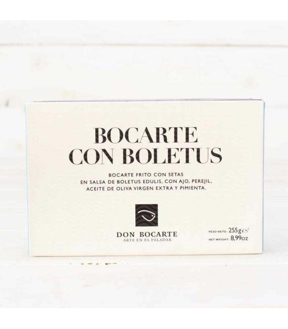 Bocartes Fritos con Salsa de Boletus 255grs, Don Bocarte
