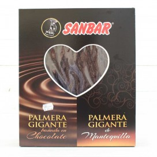 Palmera Gigante de Hojaldre con Chocolate Sanbar