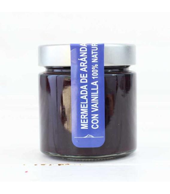 Marmellata di mirtilli 220g