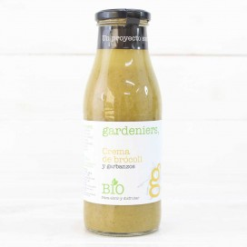 Crema de Brócoli con Garbanzos ECO 500ml