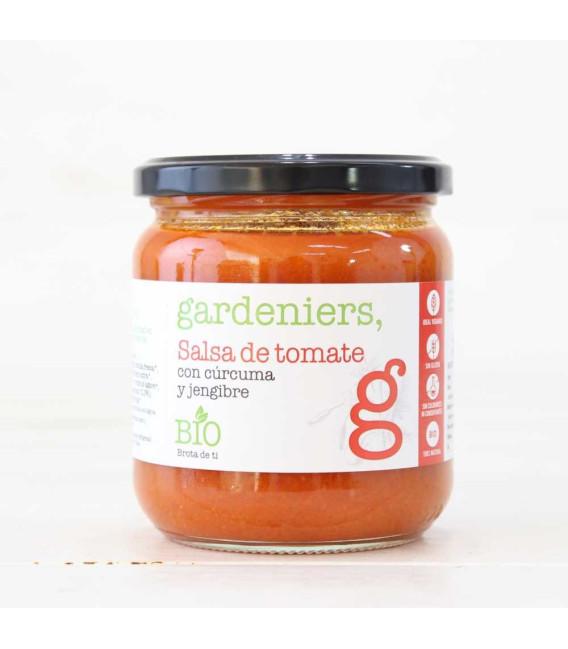 Salsa de Tomate con Cúrcuma y Jengibre ECO 340grs