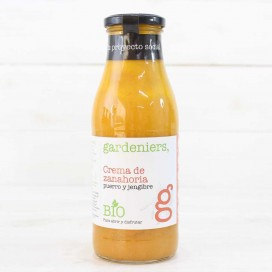 Cream of Carrot with Leek and Ginger ECO 500 ml