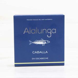 Caballa en Escabeche, lata 138 gr Alalunga