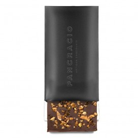 Tablet of Milk Chocolate with Nuts Caramelized, 100 grams