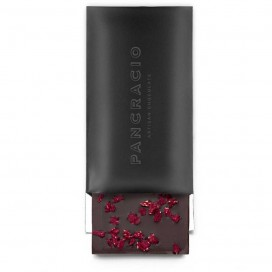 Tablet of Dark Chocolate with Raspberry, 100 grs