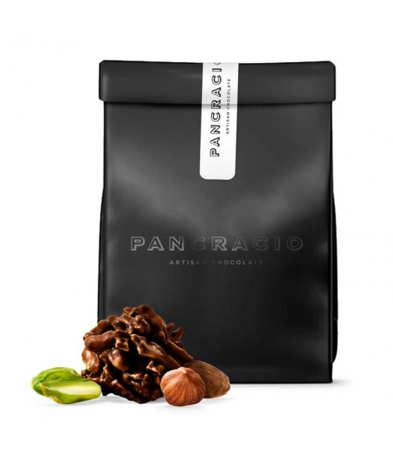 Rocas Suizas de Chocolate Negro, 140grs